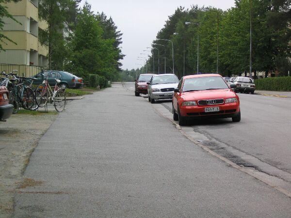 auton pysäköinti säännöt